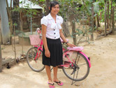 RFTS girl with bike