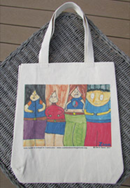 Tote Bag--Positive People