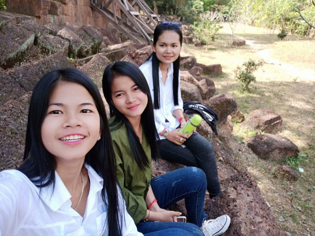 Vanna, Seyha and Samey